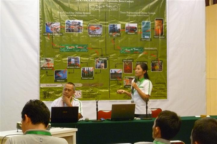 IFFINA 2013: Wood Tracking System Seminar