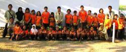 Students at Mantren Elementary School and Gaja Mada University